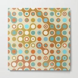 Retro pattern N1 Metal Print