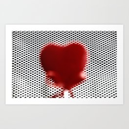 Heart in a cell Art Print