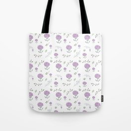 Pink Peonies With Botanical Tote Bag