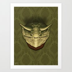 Dragon Head Art Print