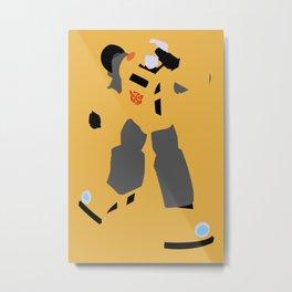 Transformers G1 - Autobot Bumblebee Metal Print