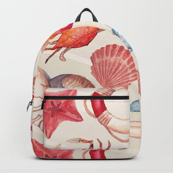 Marine Pattern 04 Backpack