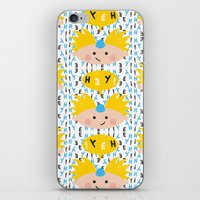 arnold iPhone & iPod Skins featuring Hey! Arnold by Carly Watts
