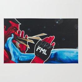 Rock Em Sock Em MMA / FML Rug