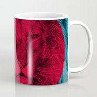 eric fan Mugs featuring Wild 5 by Eric Fan & Garima Dhawan by Garima Dhawan