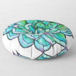 Succulent Floor Pillow