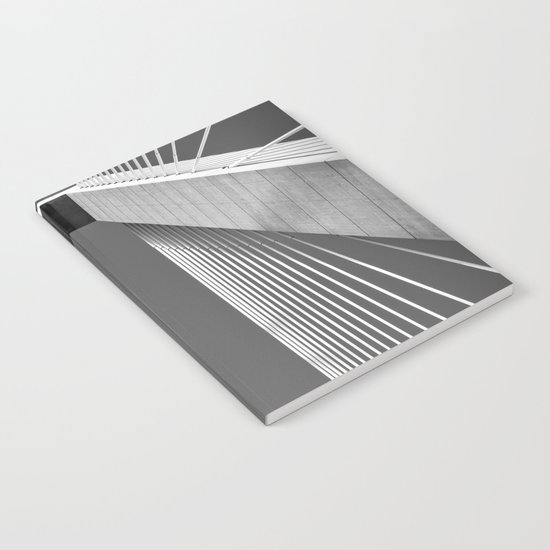 Suspended - B&W Version Notebook