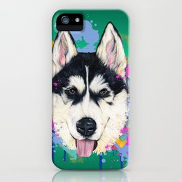 Husky iPhone Case
