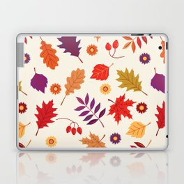Autumn foliage with bright leaves Laptop & iPad Skin