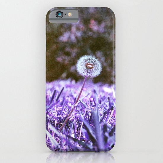 Blowball in Purple iPhone & iPod Case