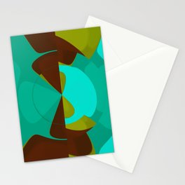 Abstract Sphere Stationery Cards