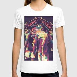 Ronaldo on WPAP Pop Art T-shirt