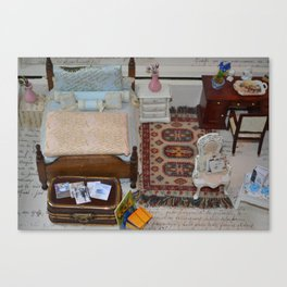 It's a small world when you live in a doll house Canvas Print