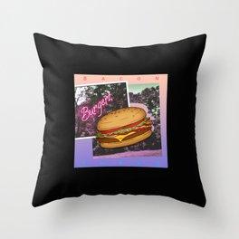 Burgerz Throw Pillow