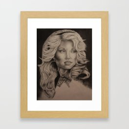 Good Golly, Miss Dolly Framed Art Print