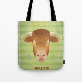 Tribullation! Tote Bag