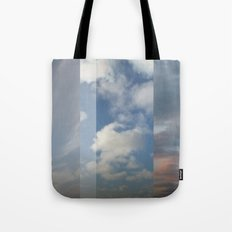 Northern Sky Fragments 3 Tote Bag