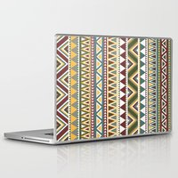 aztec Laptop & iPad Skins featuring Aztec by Dianne Delahunty