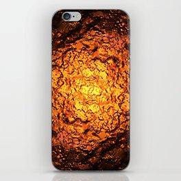 Red Hot Lava iPhone Skin