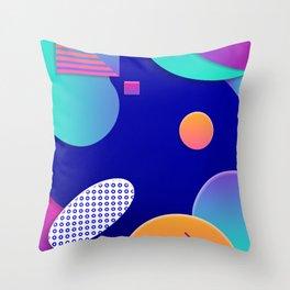 Geometric galaxy Throw Pillow