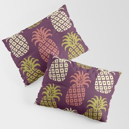 Retro Mid Century Modern Pineapple Pattern 85 Pillow Sham