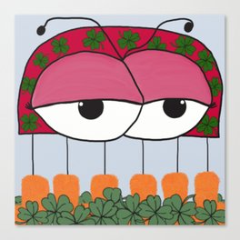 The Irish Ladybird Canvas Print