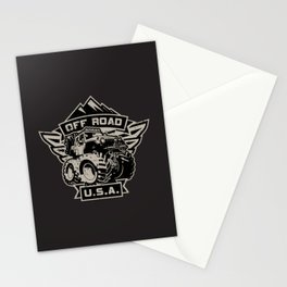 Off Road USA Stationery Cards