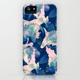 Ultramarine Orchid iPhone Case