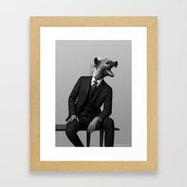 The Executive Framed Art Print