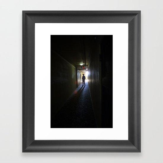 mood noir  Framed Art Print