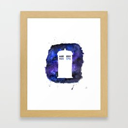 On Our Way to Gallifrey Framed Art Print
