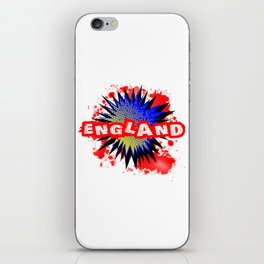 England Comic Exclamation iPhone Skin