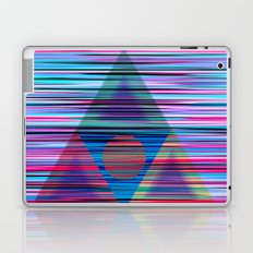Lines and triangles Laptop & iPad Skin