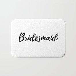 Bridesmaid Bath Mat