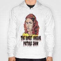 rocky horror picture show Hoodies featuring The Rocky Horror Picture Show by AdrockHoward
