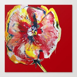 FLOWER WIFEY Canvas Print