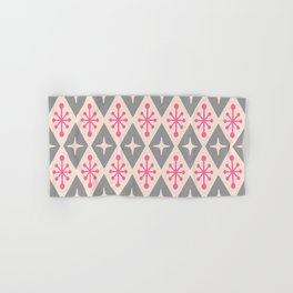 Mid Century Modern Atomic Triangle Pattern 115 Hand & Bath Towel