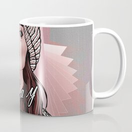 Slay Errday Tuff Girl Illustration Coffee Mug