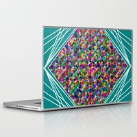 knit Laptop & iPad Skins featuring Diamond Knit by Glanoramay