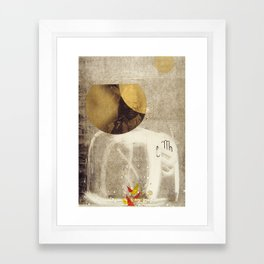 bcsm 005 (smoke signal) Framed Art Print