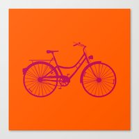 bicycle Canvas Prints featuring Bicycle by Mr and Mrs Quirynen