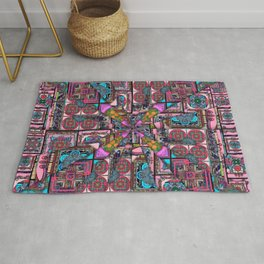it is complicated pattern Rug