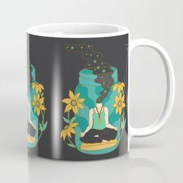 Meditation in a Jar Coffee Mug