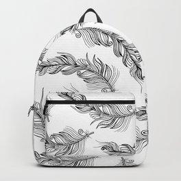 Boho Feathers II Backpack