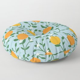 Valencia Oranges Floor Pillow