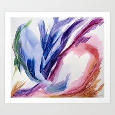 Fluid #4 Art Print