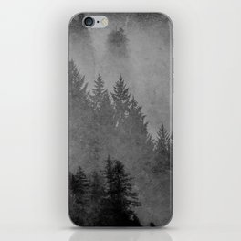 Charcoal Forest iPhone Skin