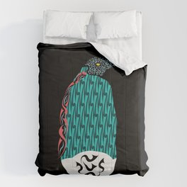 Abstract Penguin Comforters