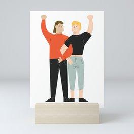 Love is Always Love Mini Art Print