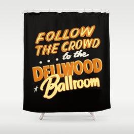Dellwood Ballroom Shower Curtain